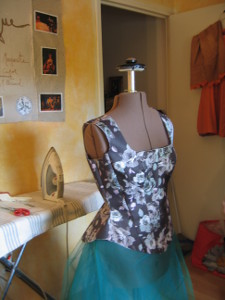 Fabrication d'un corset